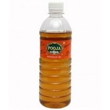 POOJA  GINGELLY OIL 1L 16PK RS 1632