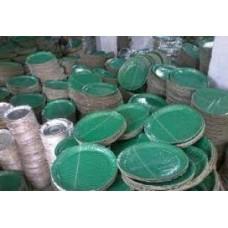 DISPOSABLE PAPER PLATES GREEN 1 KATTA RS 350