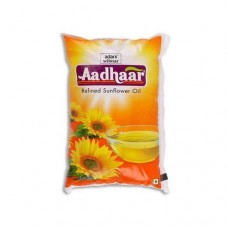 AADHAAR REFINED SUNFLOWER OIL  1KG 12PK RS 1360