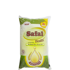 SAFAL RICE BRAN REFINED OIL 1LTR RS 105