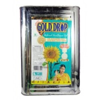 GOLD DROP OIL TIN 15KG MRP1965