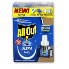 ALL OUT ULTRA REFILL 45ML 40PCS RS 2880
