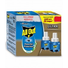 ALL OUT ULTRA REFILL TWIN PACK 290ML  RS 134