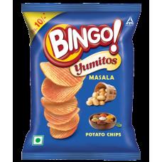 BINGO YUMITOS MASALA 35GMS 12PK RS 60