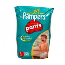 PAMPERS LARGE 8pk rs 226